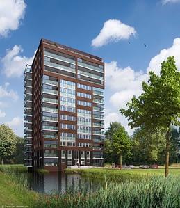 Park Zuidhof gebouw EIK toren HUIZEN010
