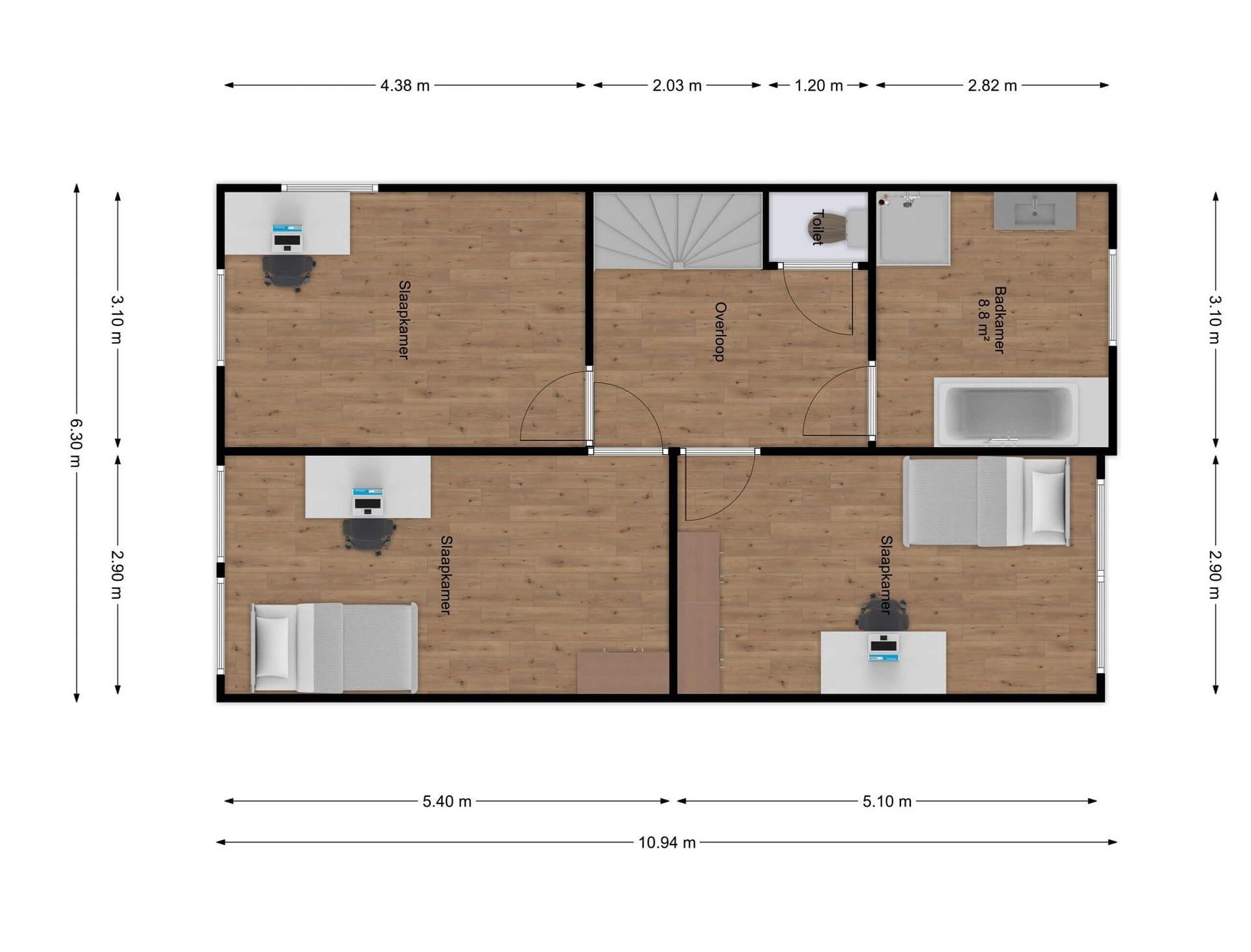 1e etage