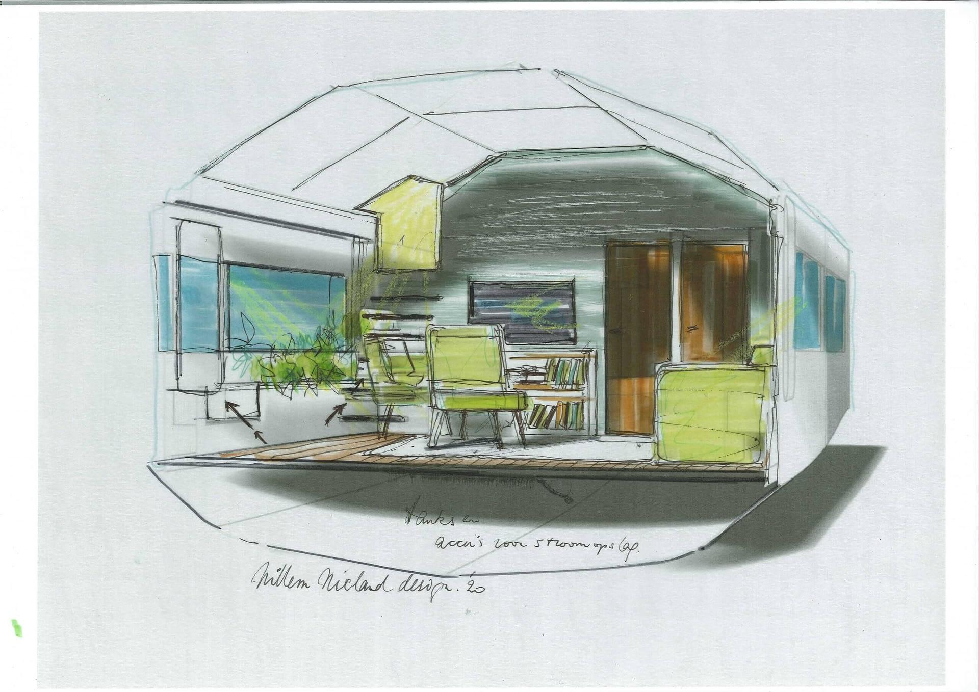 Globemaster 44 Willem Nieland Design Woonjacht HUIZEN010 makelaardij